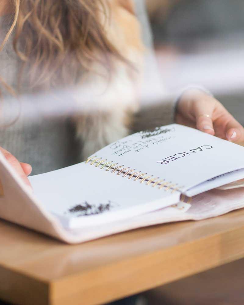 journal-open-being-read