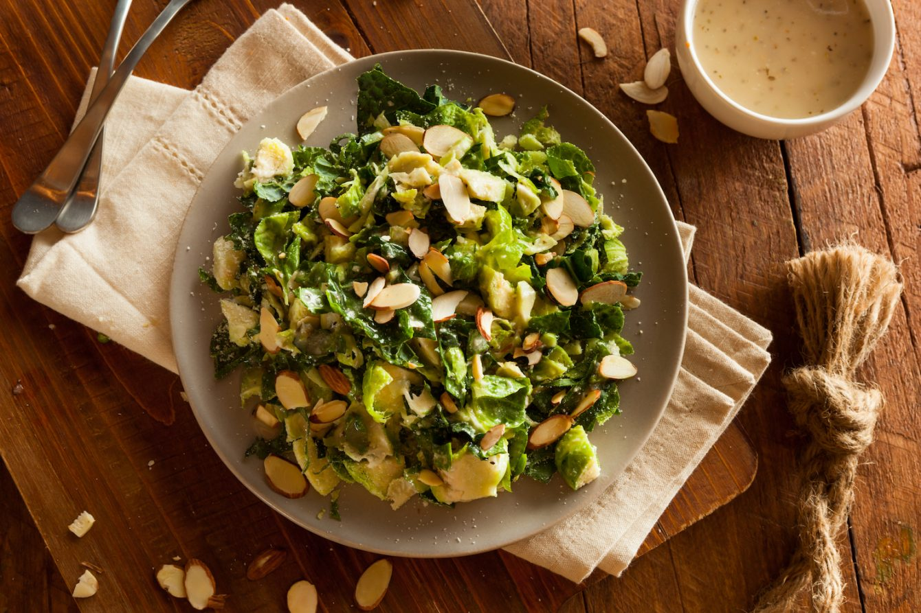 cW Recipes: Shaved Brussels Sprouts Salad